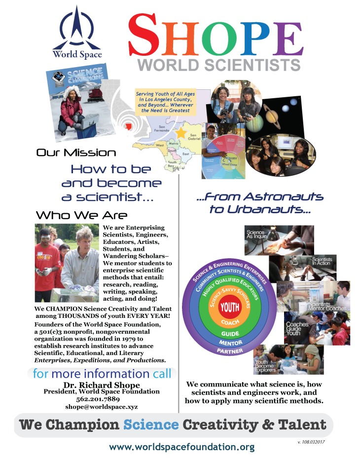 Shope World Scientists from AUGUST 2017-2018 World Space Programs-3